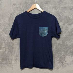 Vans custom blue pocket T-shirt